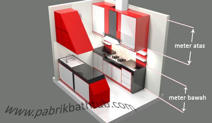 Workshop kitchen set jakarta indonesia for Biaya kitchen set per meter